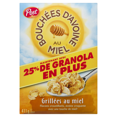 Post Honey Bunches of Oats Honey Roasted Cereal 411 g