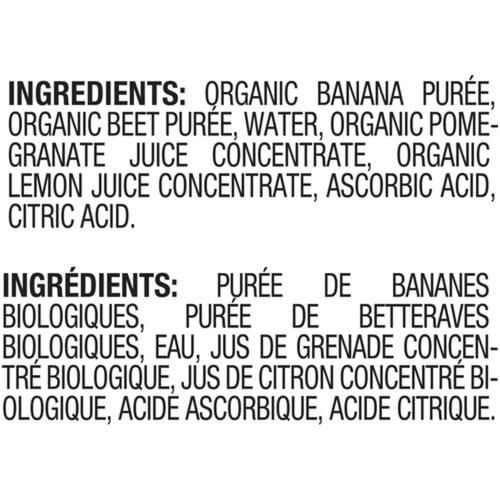Gerber Organic Purée Banana, Beet & Pomegranate 128 ml