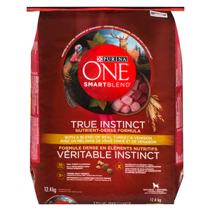 Purina One SmartBlend Turkey & Venison Dog Food 12.4 kg