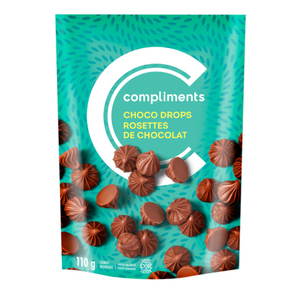 Compliments Chocolate Drops 110 g