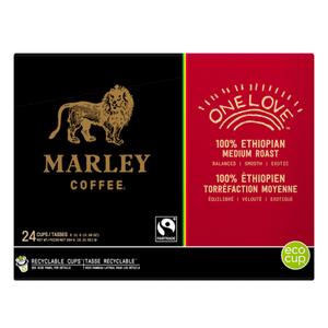 Marley Coffee Medium Roast Coffee One Love 24 K-Cups 264 g