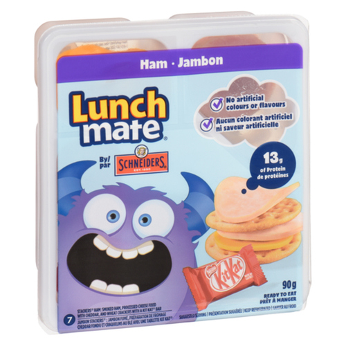 Schneiders Lunch Mate Ham Lunch Kit 90 g