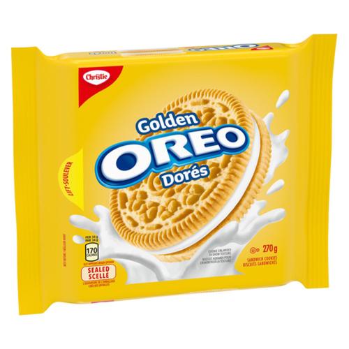 Christie Golden Oreo Cookies 270 g