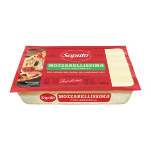 Saputo Mozzarellissima Mozzarella Pizza Cheese 500 g