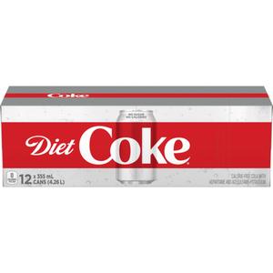 Soft Drink Coke Diet 12 x 355 ml