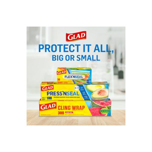 Glad Press'n Seal Plastic Food Wrap 140 Square Foot Roll