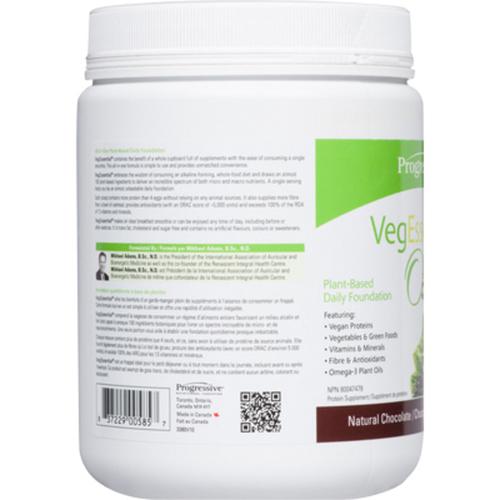Progressive VegEssential Chocolate 360 g