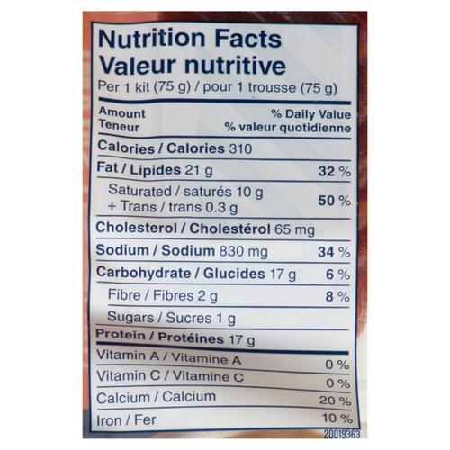 Schneiders Dry Cured Italian Dry Salami Snack Kit 75 g