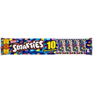 Nestlé Smarties Minis Chocolates 10 Pack