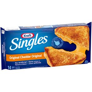 Kraft Singles Original Thick Slices 410 g
