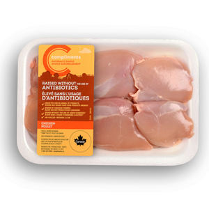 Compliments Naturally Simple Boneless Skinless Chicken Thighs 6 Thighs
