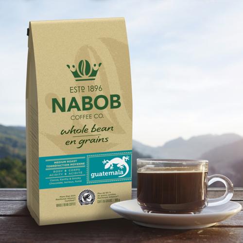 Nabob Whole Bean Guatemala Coffee 300 g
