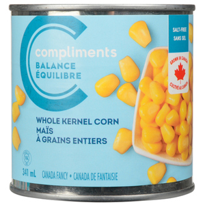 Compliments Balance Low Salt Whole Kernel Corn 341 mL