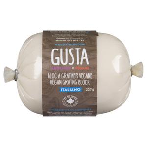 Gusta Vegan Italiano Grating Block 227 g