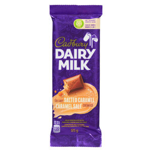 Cadbury Dairy Milk Chocolate Bar Salted Caramel Creamy 95 g