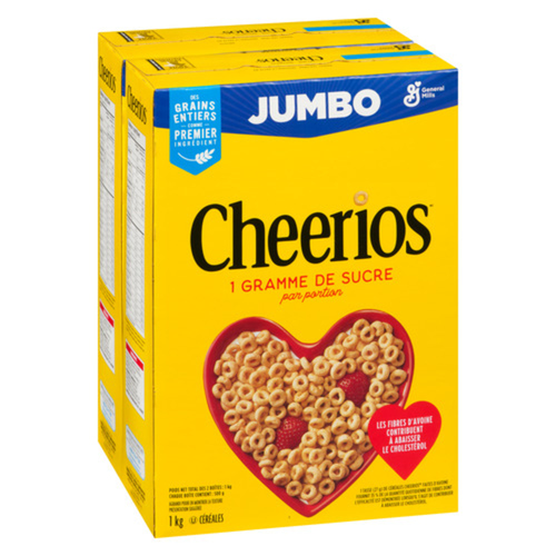General Mills Cheerios Cereal 2 x 500 g