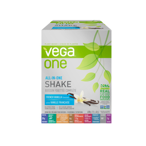 Vega One All-In-One Protein Powder French Vanilla 10 Pack