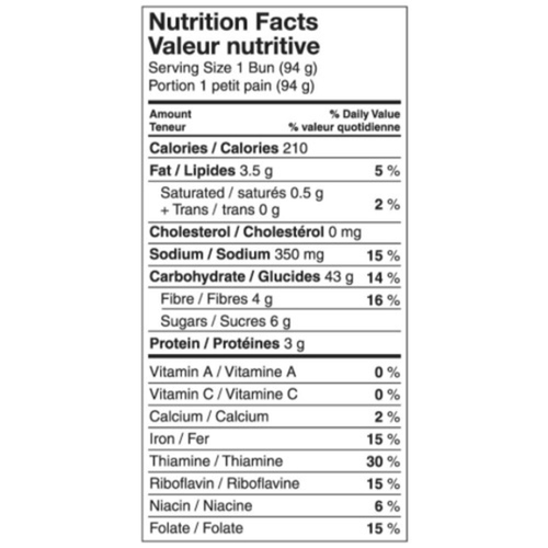 Kinnikinnick Gluten-Free Frozen English Muffins Tapioca Rice 375 g