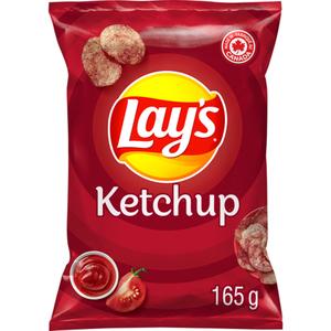 Lay's Potato Chips Ketchup 165 g