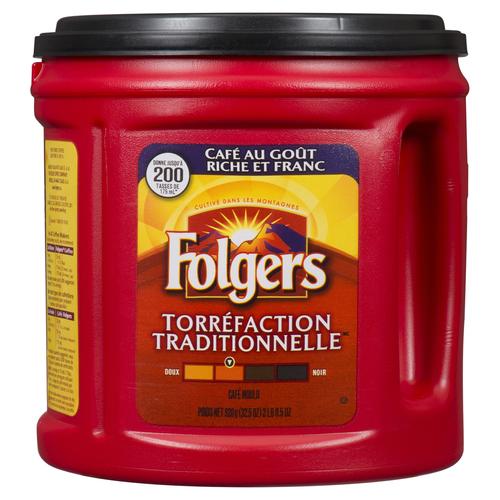 Folgers Ground Coffee Classic Roast 920 g