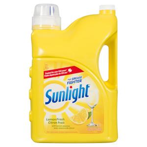 Sunlight Dish Soap Lemon Fresh 4.2 L