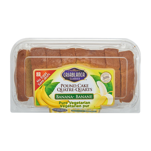 Casablanca Vegetarian Pound Cake Banana 400 g