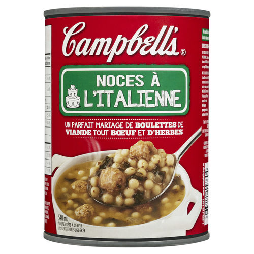 Campbell's Soup Ready To Serve Italian Wedding 540 ml