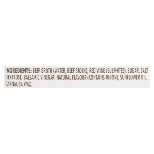 Campbell's Low Sodium Beef Broth With Red Wine 900 ml