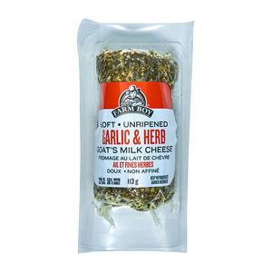 Farm Boy Goat Milk Cheese Garlic & Herb 113 g