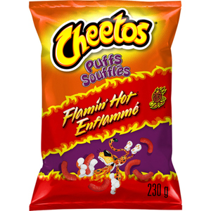 Cheetos Flaming Hot Puffs 230 g