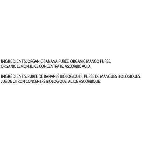 Gerber Organic Puree Banana Mango 128 ml