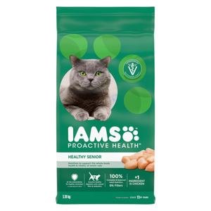 IAMS Proactive Health Dry Cat Food Senior 11+ Original 3.18kg