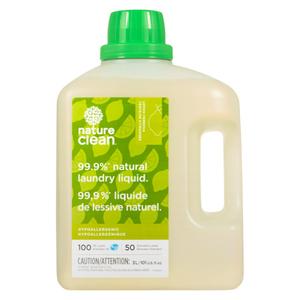 Nature Clean Laundry Liquid Lemon Verbena 3 L
