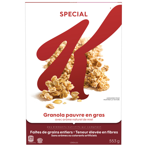 Kellogg's Special K Low Fat Granola Cereal 553 g