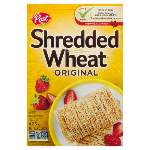 Post Shredded Big Biscuit Wheat Cereal 425 g