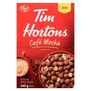 Post Tim Hortons Cafe Mocha Cereal 340 g