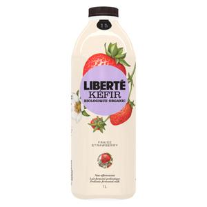 Liberté Organic 1% Kefir Strawberry 1 L