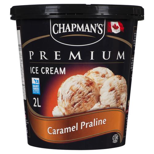 Chapman's Caramel Praline Ice Cream 2 L