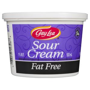 Gay Lea Fat Free Sour Cream 500 ml
