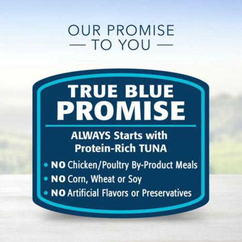 Blue Buffalo Cat Food Healthy Gourmet Flaked Tuna Entrée 85 g