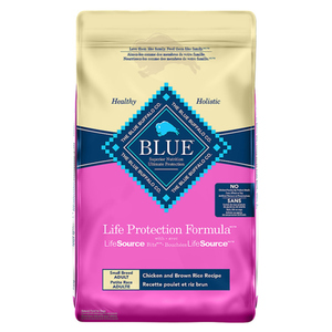Blue Buffalo Life Protection Small Breed, Chicken and Brown Rice 10-lb