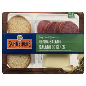 Schneiders Dry Cured Genoa Salami Snack Kit 75 g