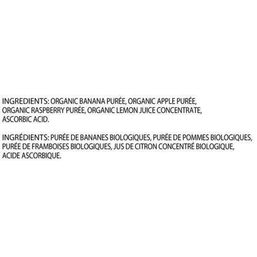 Gerber Organic Purée Banana, Apple & Raspberry 128 ml