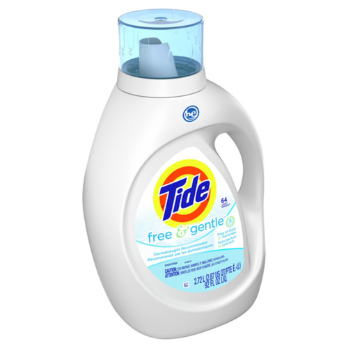 Tide 2X HE Free Laundry Detergent 64 Uses 2.72 L