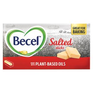 Becel Margarine Salted Plant-Based Sticks 454g