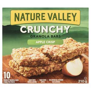 Nature Valley Crunchy Apple Crisp Granola Bars 10 x 21 g