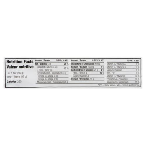 Clif Gluten-Free Whey Protein Bar Peanut Butter Chocolate 56 g