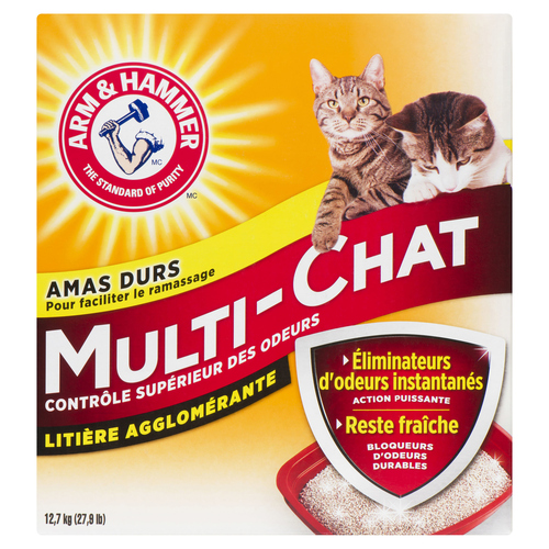 Arm & Hammer Multi-Cat Clumping Litter 12.7 kg
