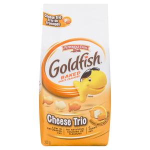 Pepperidge Farm Goldfish Crackers Cheese Trio 200 g
