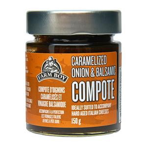 Farm Boy Compote Caramelized Onion & Balsamic 150 g